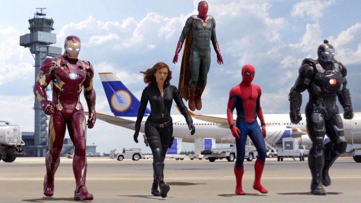 Airport Fight Scene Captain America: Civil War | 5 Best Marvel Cinematic Universe Movies | Popcorn Banter