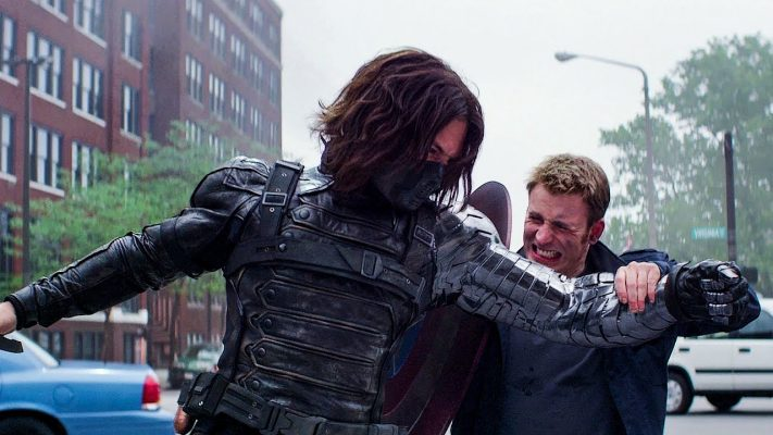 Cap and Bucky Fight in Winter Soldier  | 5 Best Marvel Cinematic Universe Movies | Popcorn Banter