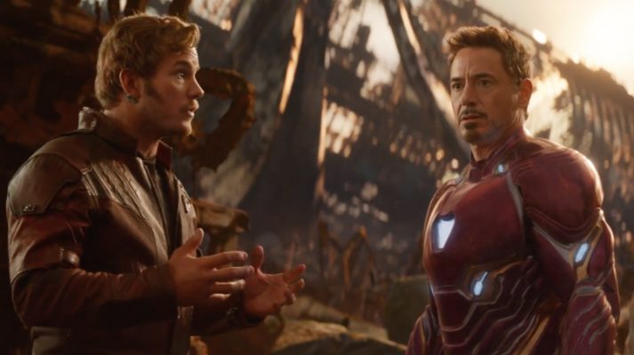 Tony Stark and Star-Lord in Avengers: Infinity War | 5 Best Marvel Cinematic Universe Movies | Popcorn Banter